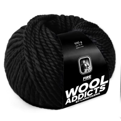 Wool Addicts FIRE 004 black