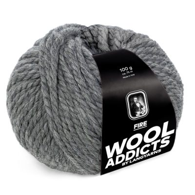 Wool Addicts FIRE 005 medium grey