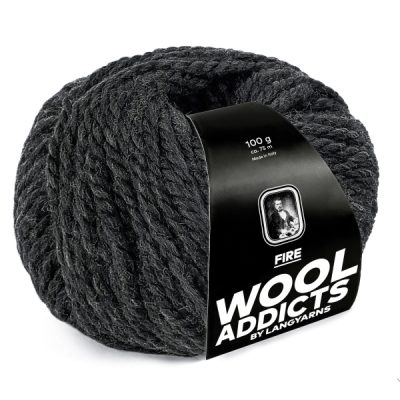 Wool Addicts FIRE 070 dark grey