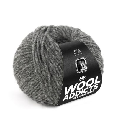 Wool Addicts AIR 005 medium grey