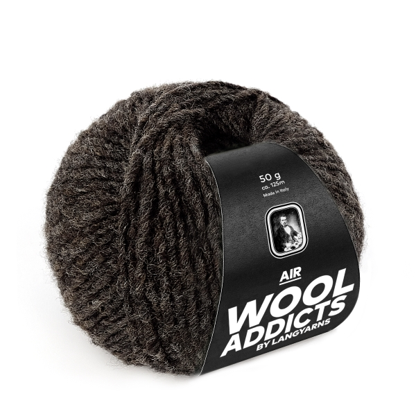 Wool Addicts AIR 067 dark brown