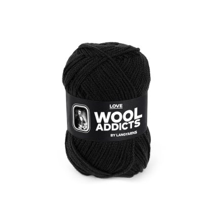 Wool Addicts LOVE 004 black