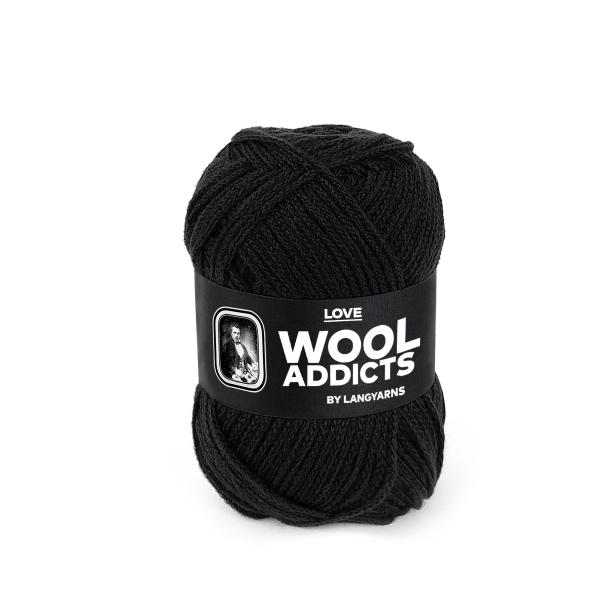 Wool Addicts LOVE 004 black