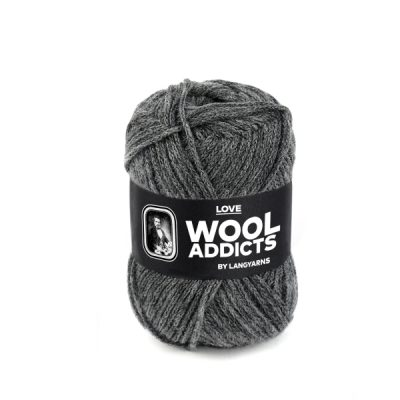 Wool Addicts LOVE 005 medium grey