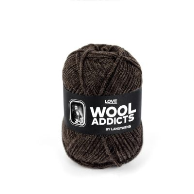 Wool Addicts LOVE 067 dark brown