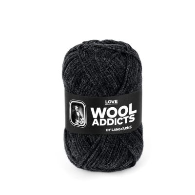 Wool Addicts LOVE 070 dark grey