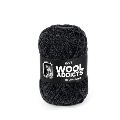 Wool Addicts LOVE 070 dark grey