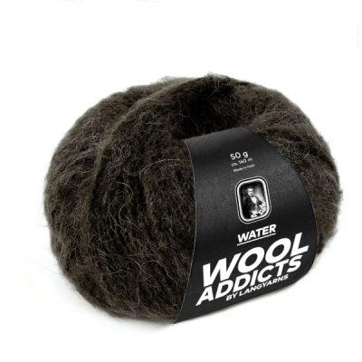 Wool Addicts WATER 067 dark brown