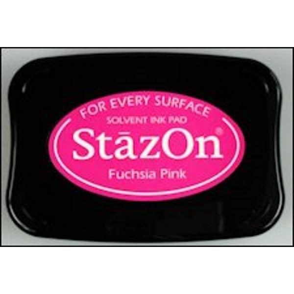 StazOn stempelkussen fuchsia pink