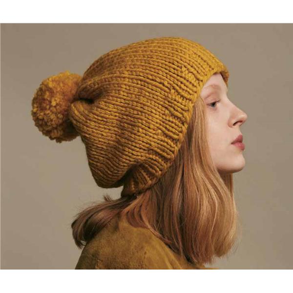 Breipakket Wool Addicts - Savage saffron