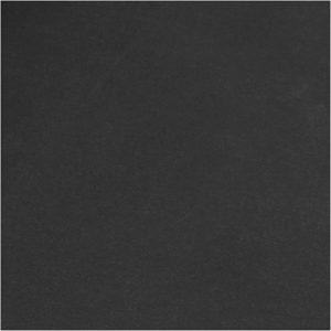 Faux Leather Papier Zwart, 50x100cm