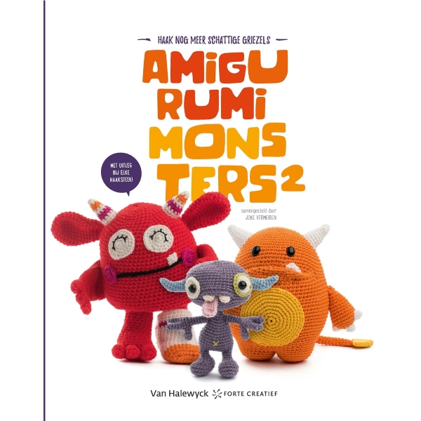 Boek Amigurumi Monsters 2