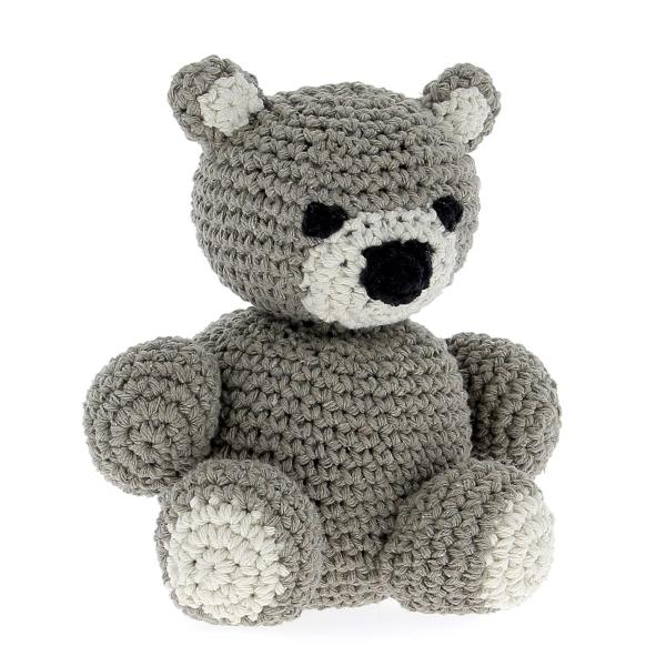 Haakpakket Bear Billie - taupe