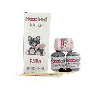 Haakpakket Kitten Kyra - lava