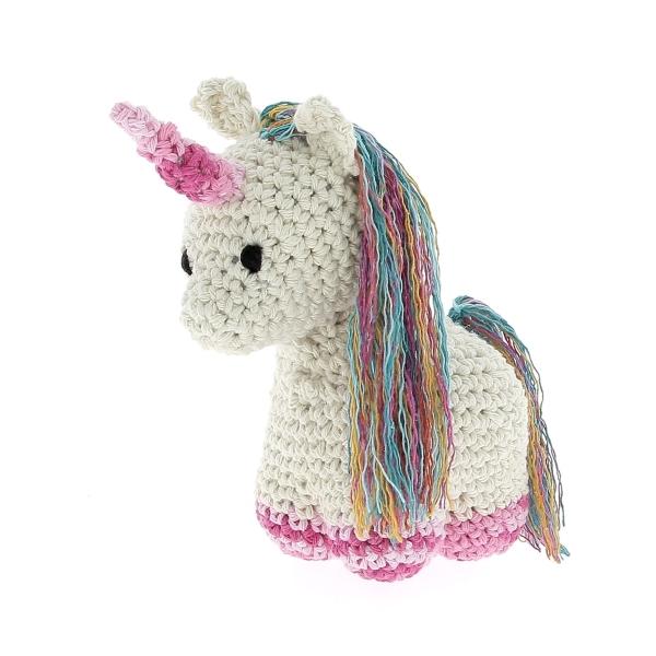 Haakpakket Unicorn Nora - almond