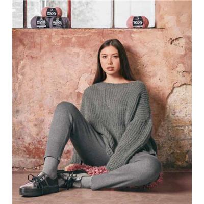 Breipakket Wool Addicts - Holy grey
