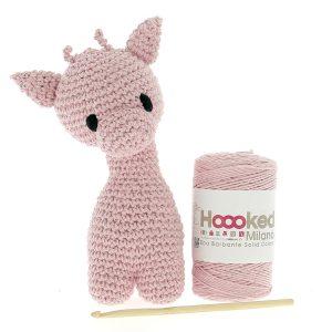 Haakpakket Giraffe Ziggy - blossom