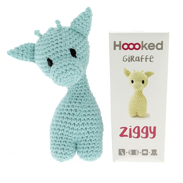 Haakpakket Giraffe Ziggy - spring