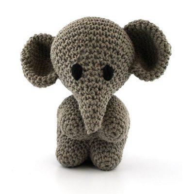 Haakpakket Elephant Mo - taupe