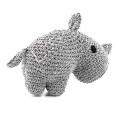 Haakpakket Rhino Dex - gris