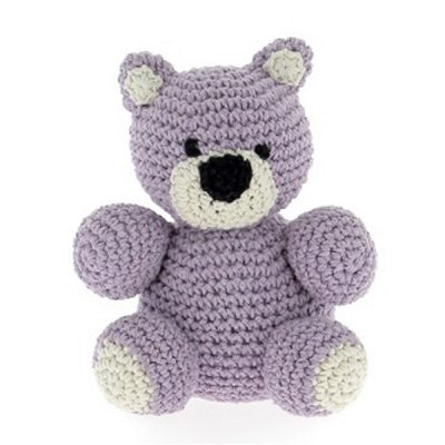 Haakpakket Bear Billie - orchid