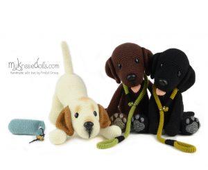 Doggybag labrador Bo (blond)
