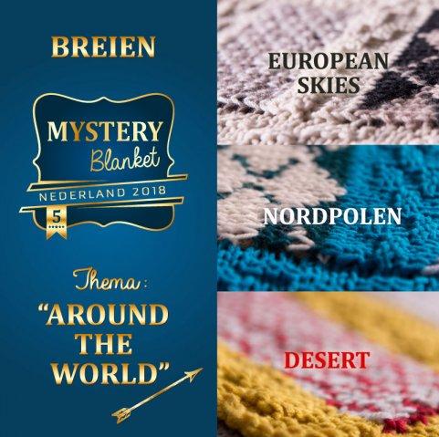 Overige materialen Mystery Blanket Breiclub (breien)-0