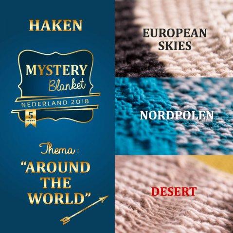 Overige Materialen Mystery Blanket Breiclub Haken Echtstudio