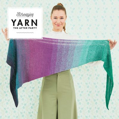 Yarn the after party nr 32 Exclamation Shawl