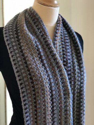 Haakpakket Lange Tante Setje sjaal-0