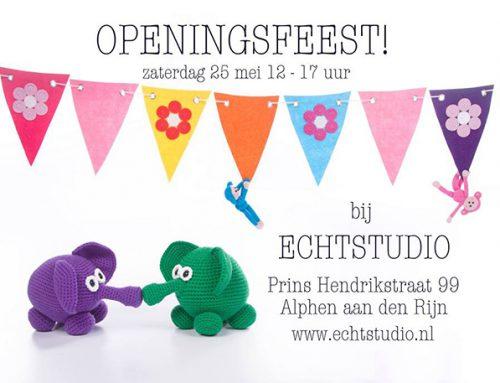 Openingsfeest!