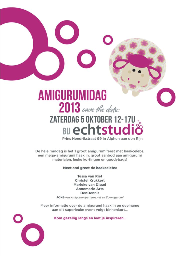 Amigurumidag 2013 Bij Echtstudio Echtstudio