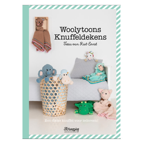 Nieuw Haakboek Woolytoons Knuffeldekens Echtstudio