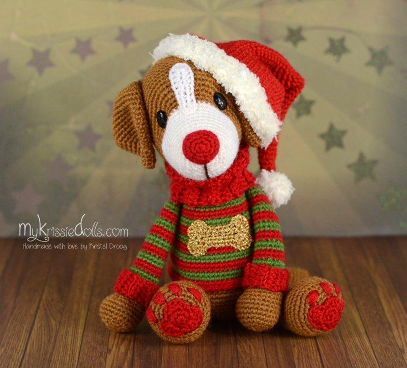 garenpakket kersthondje Twinkle