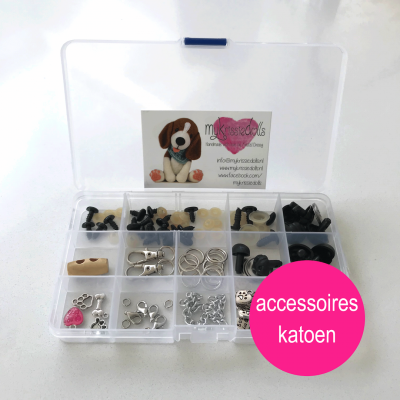 Totaalpakket accessoires hondjes katoen