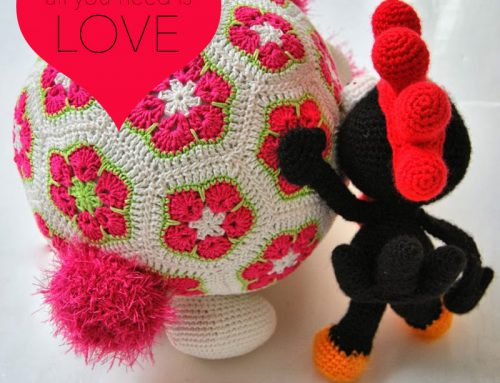 Classic crochet love story