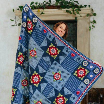Crochet Along Indigo Dreams