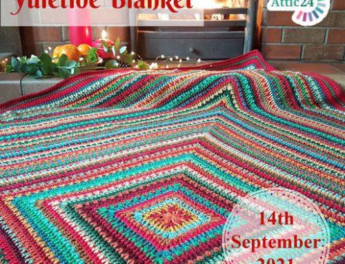 Haakpakket Yuletide blanket Attic 24