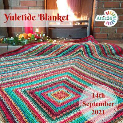 Haakpakket Yuletide blanket