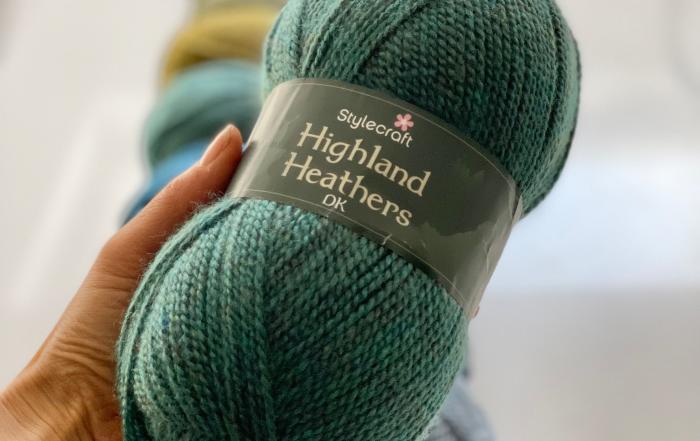 Stylecraft Highland Heathers DK